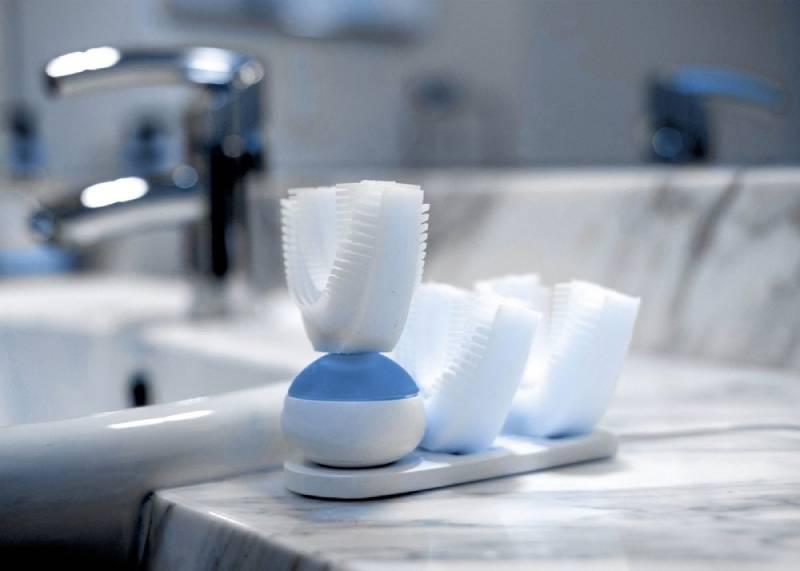 مسواک برقی منطبق بر فرم دندانهای شما